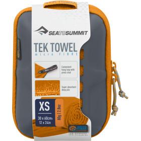 Sea to Summit Tek Handtuch XS orange